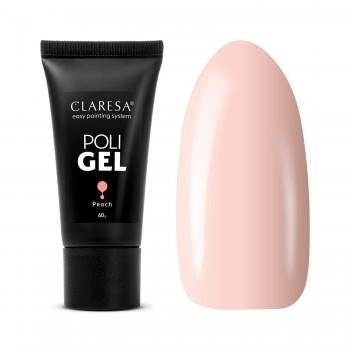 CLARESA POLY GÉL PEACH 60g